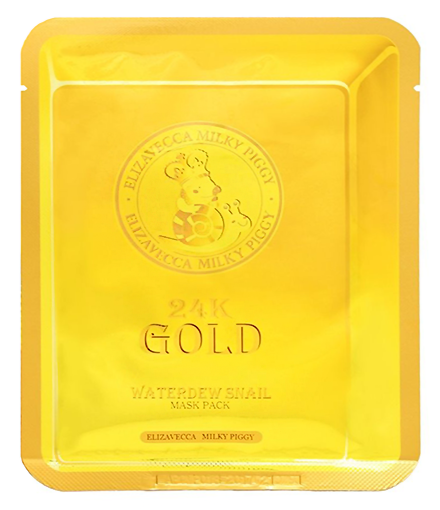Маска для лица улиточная 24k Gold Water Dew Snail