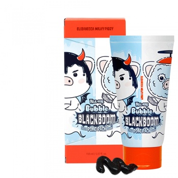 Маска кислородная Hell-Pore Bubble blackboom pore pack