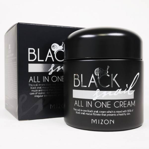 Крем для лица MIZON Black Snail All In One Cream 35 мл