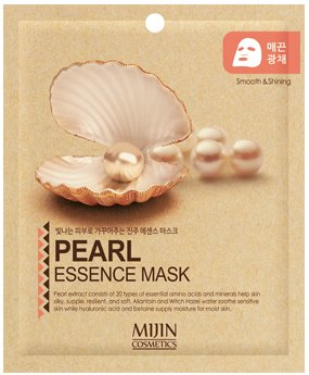 Маска для лица тканевая жемчуг PEARL ESSENCE MASK